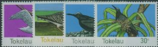 TOK SG57-60 Birds of Tokelau set of 4